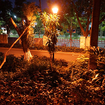 Garden and Park Lighting Solution