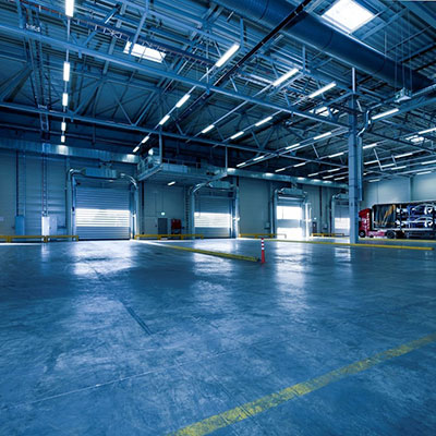 Factory and Warehouse Lighting Solution